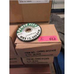 "2 Boxes New 4-1/2"" Grinding Wheels"