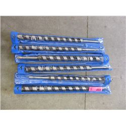 "6 New 16"" Long 1-1/8"" Auger Bits"