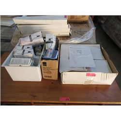New Ceiling Light Fixture & 2 Boxes of Light Bulbs