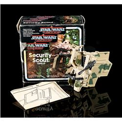 STAR WARS: THE POWER OF THE FORCE - Security Scout Vehicle
