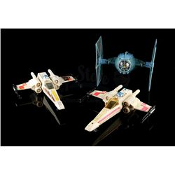 STAR WARS: VARIOUS PRODUCTIONS - X-Wing Fighters & TIE Fighter