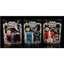 STAR WARS: A NEW HOPE - Diecast TIE Fighter, Darth Vader TIE Fighter & X-Wing Fighter
