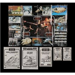 STAR WARS TOYS - Instruction Sheets and Product Poster
