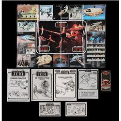 STAR WARS TOYS - Instruction Sheets, Bounty Hunter Capture Log & Product Poster