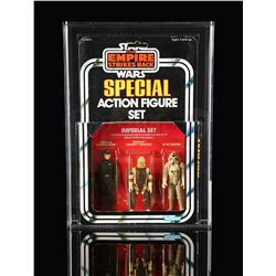 STAR WARS: THE EMPIRE STRIKES BACK - Imperial Set ESB Series 2 3-pack AFA 75+