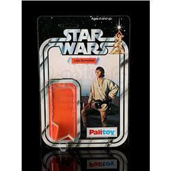 STAR WARS: A NEW HOPE - Luke Skywalker Card Back and Bubble