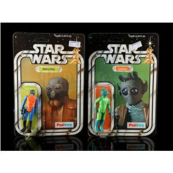 STAR WARS: A NEW HOPE - Walrus Man and Greedo