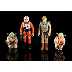 STAR WARS: THE EMPIRE STRIKES BACK - Loose Dagobah Action Figures