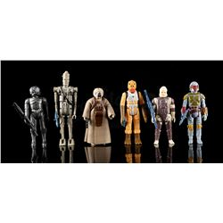 STAR WARS: THE EMPIRE STRIKES BACK - Loose Bounty Hunters Action Figures