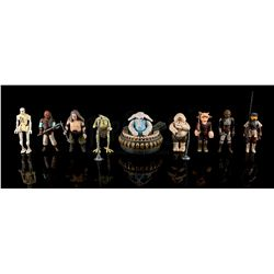 STAR WARS: RETURN OF THE JEDI - Jabba the Hutt's Palace Action Figures