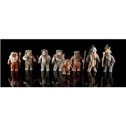 STAR WARS: RETURN OF THE JEDI - Loose Ewok Action Figures