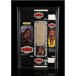STAR WARS: THE EMPIRE STRIKES BACK - Chewbacca 12-Inch Series ESB Box Flat AFA 50
