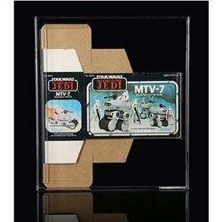 STAR WARS: RETURN OF THE JEDI - MTV-7 Revenge Box Flat AFA 75+