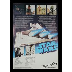 STAR WARS: A NEW HOPE - Bowater's Promotional Poster
