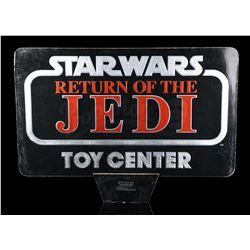 STAR WARS: RETURN OF THE JEDI - Toy Center Display