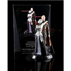 STAR WARS: ATTACK OF THE CLONES - Asajj Ventress and Count Dooku Statue