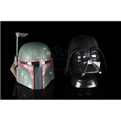 STAR WARS: RETURN OF THE JEDI - Darth Vader and Boba Fett Helmets