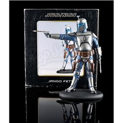 STAR WARS: ATTACK OF THE CLONES - Jango Fett Statue