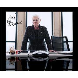 JAMES BOND: SKYFALL - Autographed Judi Dench Photograph