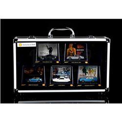 JAMES BOND: VARIOUS FILMS - Shell Promotional Car Set & Presentation Case