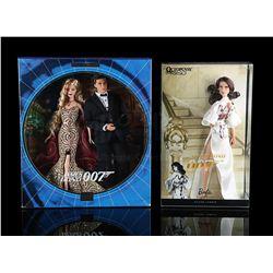 JAMES BOND: VARIOUS FILMS - Ken and Barbie Collectors Edition Dolls