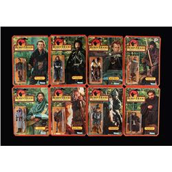 ROBIN HOOD PRINCE OF THIEVES - Set of Eight Action Figures - Sealed