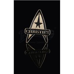 "STAR TREK - ""Christie's"" 40th Anniversary Auction Badge"