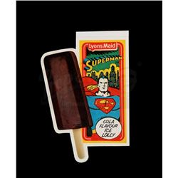 SUPERMAN - Superman Ice Lolly Shop Display Sticker