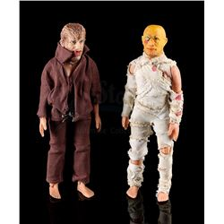 UNIVERSAL MONSTERS - Wolfman and The Mummy Figures