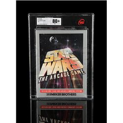 STAR WARS: RETURN OF THE JEDI - Star Wars The Arcade Game UKG 80 - Sealed
