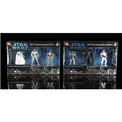STAR WARS: A NEW HOPE - 1997 Commemorative Limited Hong Kong Edition Figures