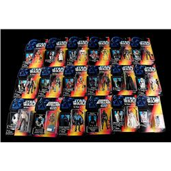 STAR WARS: THE POWER OF THE FORCE - Red/Orange POTF2 Action Figures - Sealed