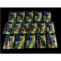 STAR WARS: THE POWER OF THE FORCE - Power of the Force 2 Green Carded Figures