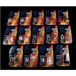STAR WARS: THE POWER OF THE FORCE - Tri-Logo POTF2 Action Figures