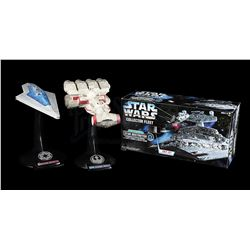 STAR WARS TOYS - Collector Fleet Star Destroyer, Super Star Destroyer and Rebel Transport
