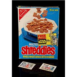 STAR WARS: A NEW HOPE - Shreddies Cereal Box and Transfers