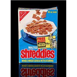 STAR WARS: A NEW HOPE - Shreddies Cereal Box