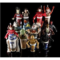 STAR WARS TOYS - Character Cups & Toppers