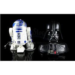 STAR WARS TOYS - Darth Vader & R2-D2 Telephones