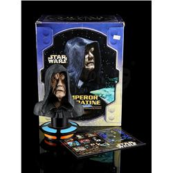 STAR WARS: VARIOUS PRODUCTIONS - Emperor Palpatine Cold-Cast Porcelain Bust