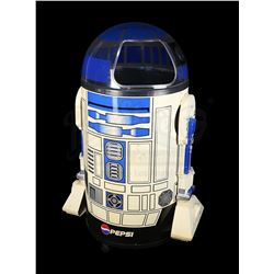 STAR WARS: VARIOUS PRODUCTIONS - R2-D2 Drinks Cooler Signed by Kenny Baker