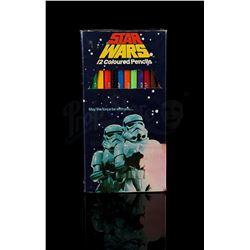 STAR WARS: A NEW HOPE - Twelve Coloured Pencils