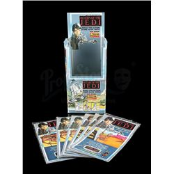 STAR WARS: RETURN OF THE JEDI - Rub Down Action Transfers and Display Box