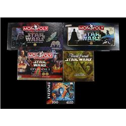 STAR WARS TOYS - Board Games & Jigsaw Puzzle