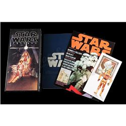 STAR WARS: A NEW HOPE - CD Box Set, Cast and Crew List, Poster Magazine and Press Invite