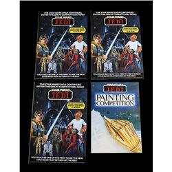STAR WARS: RETURN OF THE JEDI - Palitoy Promotional Leaflets