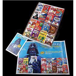 STAR WARS TOYS - Celebration V Cereal Box Set