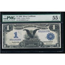 1899 $1 Black Eagle Silver Certificate PMG 55EPQ