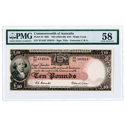 Commonwealth of Australia. ND (1954-59) Issued Banknote.