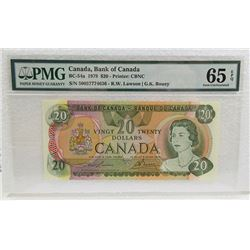 Bank of Canada, 1979 Banknote.